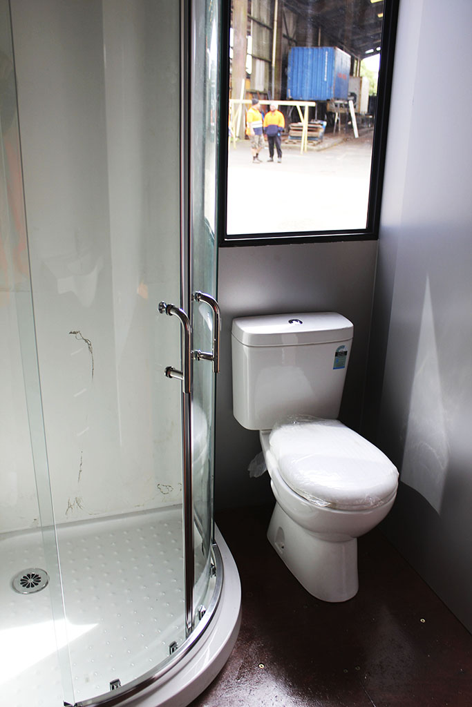 Csl containers modifications for Bathroom containers